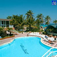 View Of The Hotel Club Atlantico Pool