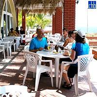 Hotel Club Bucanero Kafeterija