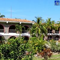 Giardino al Club Cubacan dell'Hotel Bucanero