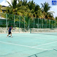 Cubanacan Club Bucanero Tennis Court