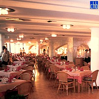 Restaurant At Comodoro Hotel