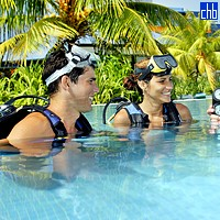 Diving Lessons At The Blau Hotel