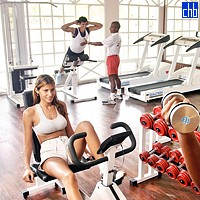 Gym At The Costa Verde Beach resort