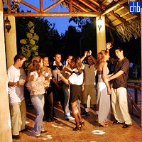 Night Party At The Costa Verde Hotel