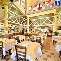 Restoran hotela Cuatro Palmas