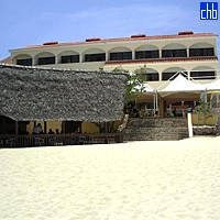 Cuatro Palmas Hotel From The Beach