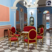 First Floor Furniture, Hotel Encanto Don Florencio, Sancti Spiritus, Cuba