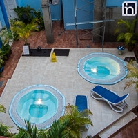 Jacuzzi of the Hotel Encanto Don Florencio, Sancti Spiritus, Cuba