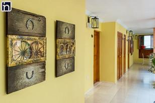 Interior Corridor of the Hotel Encanto Caballeriza, Holguin, Cuba