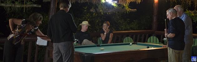 Sto za bilijar u baru hotela Horizontes Villa  El Salton