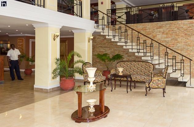 Lobby of the Hotel Encanto Gran Hotel, Santiago de Cuba, Cuba
