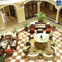 Vestíbulo en el Hotel Grand Trinidad