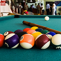 Pool Table in Lobby Bar of Hotel Hanabanilla