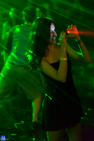 Fotografišući njofre u tami disko kluba hotela Iberostar Varadero