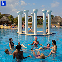 Pool Exercises at Hotel Iberostar Varadero