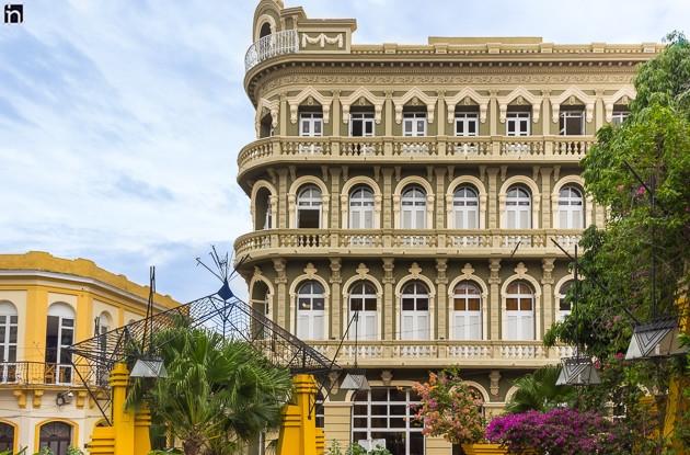 Facade of the Hotel Encanto Imperial, Santiago de Cuba, Cuba