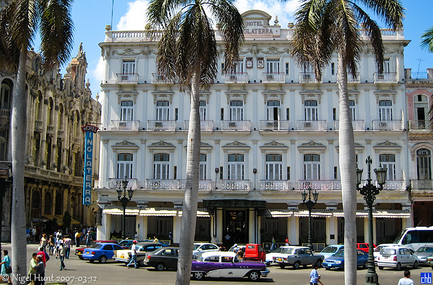 Hotel Inglaterra, Kuba