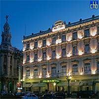 Hotel Inglaterra de noite