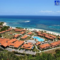 Aerial View of The Breezes Jibacoa Hotel