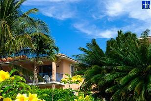 Пышные тропические сады отеля Суперклубс Бризес Хибакоа