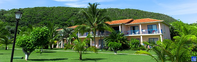 Отель Бризес Хибакоа вилла с видом на океан