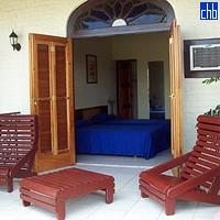 Hotel La Ermita, Habitación y Terraza
