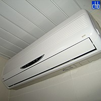 Air Conditionning Unit At La Rusa