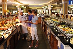 Hotel Iberostar Laguna Azul, Restaurante Bufet