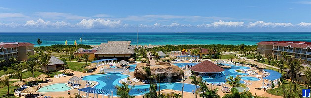Hotel Laguna Azul Panorama Aerial View