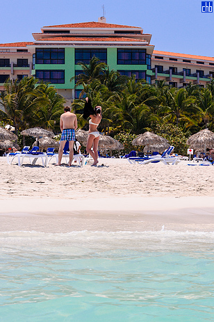 The Varadero Beach of Melia Las Americas Hotel