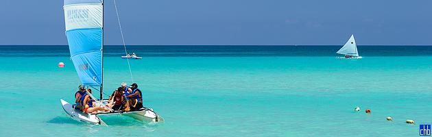 Отель Мелия Лас Америкас чистая вода Карибского моря