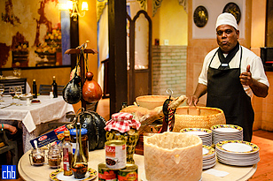 Pasta sa parmezanom u talijanskom restoranu hotela Melia Las Americas