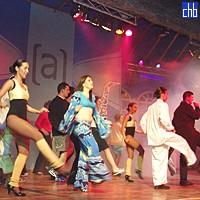 Show bei Las Dunas