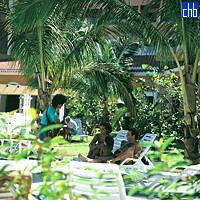 Garden At Riu Las Morlas