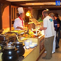 Buffet Restaurant At Las Morlas Hotel