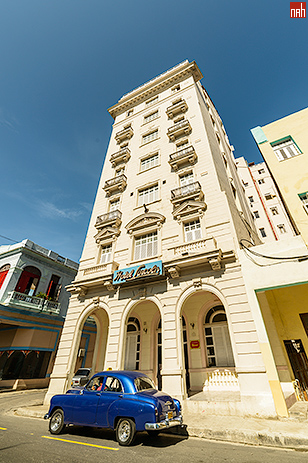 Hotel Lincoln on Galiano Street, Central Havana, Cuba