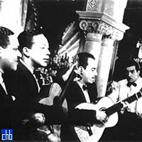 Трио Салазар в отеле Линкольн в 1941