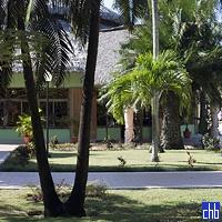 Hotel Los Caneyes Restaurant Building & Gardens