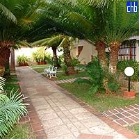 Los Helechos Hotel Garten