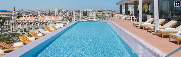 Rooftop Pool, Kempinski La Habana, Cuba