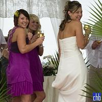 Bride & Bridesmaids at Hotel Blau Marina Varadero