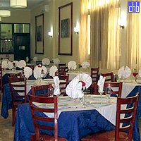 Hotel Marti Restoran u centru Guantanamo grada.