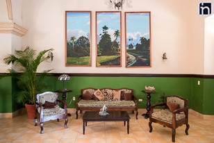 Furniture at the Lobby of the Hotel Encanto Mascotte, Remedios, Villa Clara, Cuba