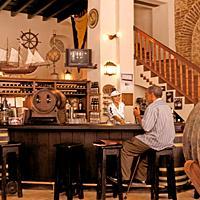Bar en el Mesón de la Flota