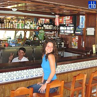 A Bar at the San Juan Lake, Las Terrazas