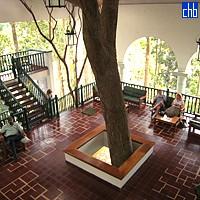 Entrée de l'Hôtel Moka Las Terrazas