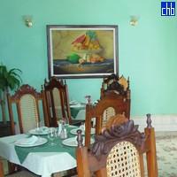 Restaurante en el Hotel Palacio Azul