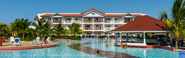 Hotel Memories Paraiso Azul, Cayo Santa Maria, Cuba