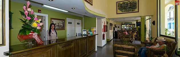 Готель Парк Вью стійка реєстрації