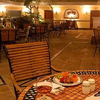 Portico all'Hotel Parque Central